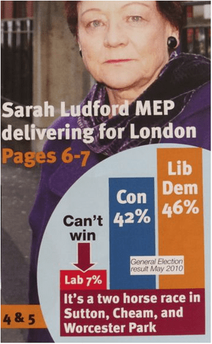 Sarah Ludford leaflet