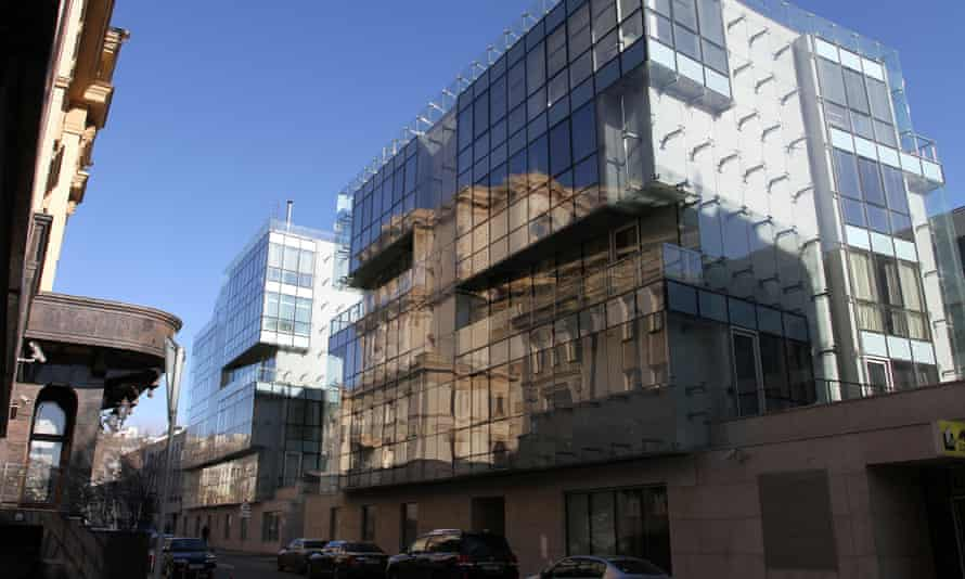 A luxury real estate development in Moscow.