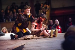 Titus Andronicus at Shakespeare's Globe.