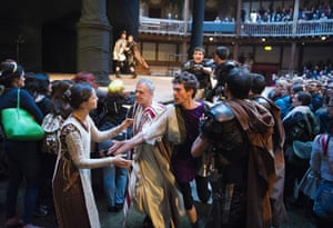 A scene from Titus Andronicus