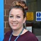 Katharine Wells, community mental health nurse