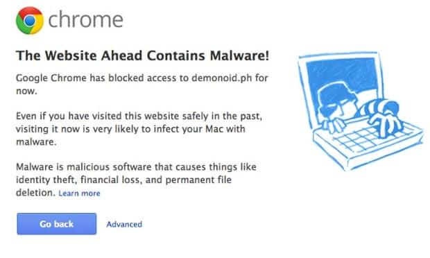Google blocks filesharing website Demonoid over malware downloads