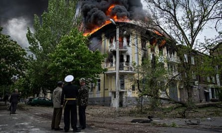 Mariupol police station