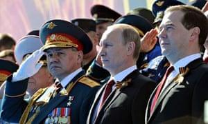 Putin at Red Squre victory parade