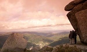 Walking in the Serra da Estrela mountains