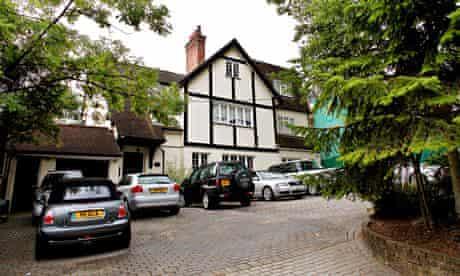 Mock-Tudor affluence in Barnet