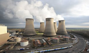 Drax power station in Yorkshire is the site of a proposed carbon capture and storage pilot plant
