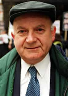 Roger Lyons during his time as general secretary of the Manufacturing, Science and Finance union