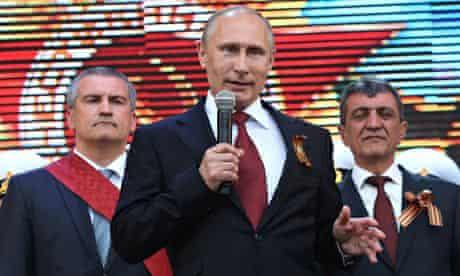 Vladimir Putin in Sevastopol