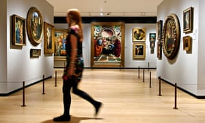 National Gallery opens its secret underground museum of European art