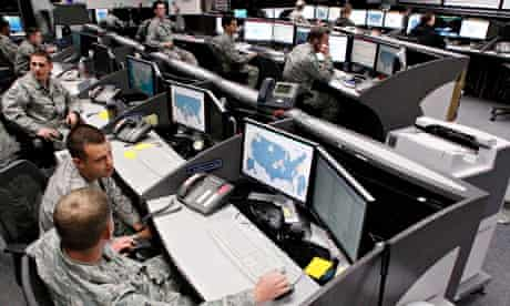 Air Force Space Command Network Operations & Security Center at Peterson Air Force Base