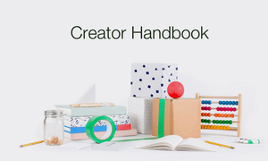 Kickstarter's new Creator Handbook.