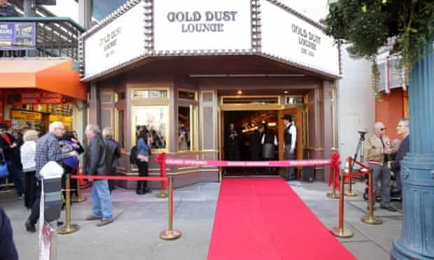 San Francisco's Gold Dust lounge.