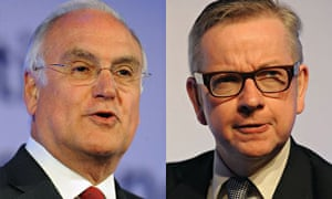 Michael Wilshaw and Michael Gove