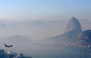 Rio's domestic airport, Santos Dumont