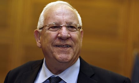 Reuven Rivlin is more hawkish on the subject of a Palestinian state than predecessor Shimon Peres.