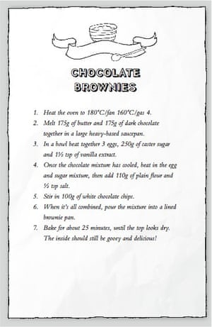 bake off: chocolate brownie