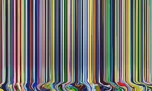 Colourcade: White 2014 by Ian Davenport