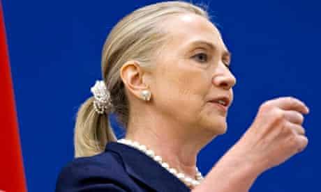 Hillary Clinton scrunchie