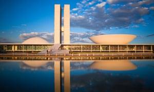 National Congress of Brazil, Brasilia, by Oscar Niemeyer