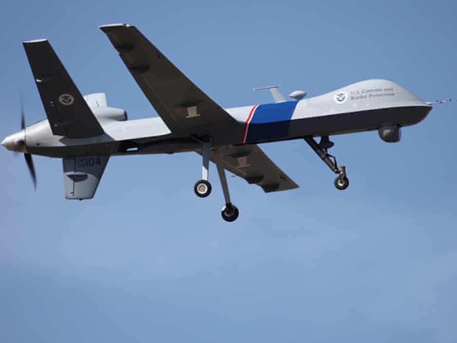 us border patrol drones