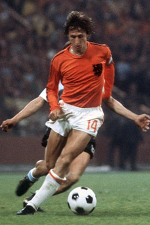 The West German defenders stuck so tight to Johan Cruyff in the the 1974 World Cup final he was booked for whining to the referee at half-time.