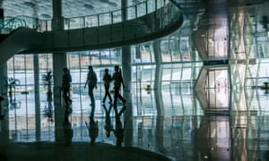 The futuristic new Terminal 3 at Shenzhen Airport reflects the city's ambition to be regarded as a hi-tech hub for international business.