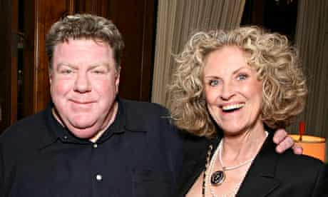 George Wendt and his wife and Second City performer, Bernadette Birkett