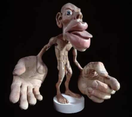 homunculus 3D model