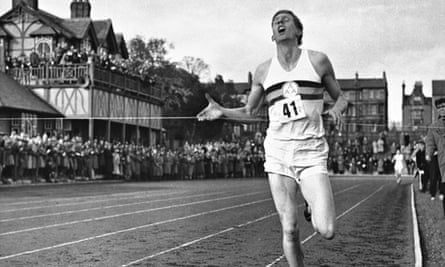 Roger Bannister Iffly Field four-minuye mile