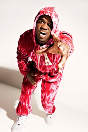 From the hood … A$AP Ferg wearing Astrid Anderson for Topman.