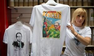 Vladimir Putin Crimea T-shirt