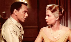 Frank Sinatra and Martha Hyer, in 1958's Some Came Running.