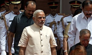 Narendra Modi made his comments in his first speech to the Indian parliament.