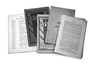 Great War: School magazines