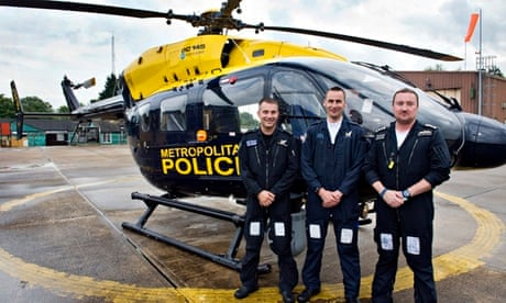 The real flying squad: on patrol with London's chopper
