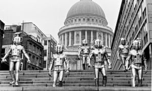 'What do you mean the Fitzroy's closing?' … the Cybermen are unimpressed by the news.