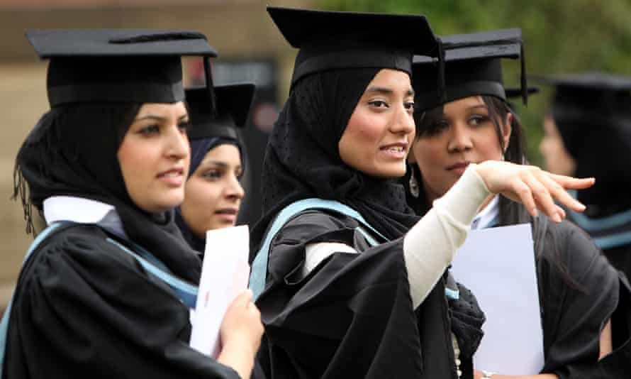 A study by the University of Manchester claims that although levels of educational attainment have improved for ethnic minorities, these have not translated into the labour market
