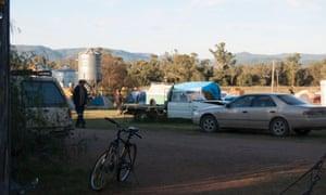 Protest camp Maules Creek