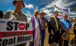 Maules Creek protest