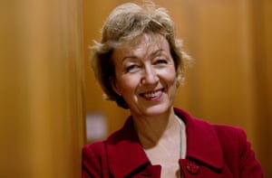 Conservative MP Andrea  Leadsom at the House of Commons