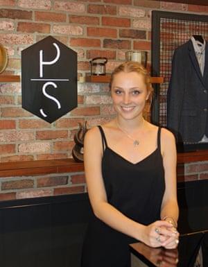 Rebecca Parker Personal Shopper at Topman
