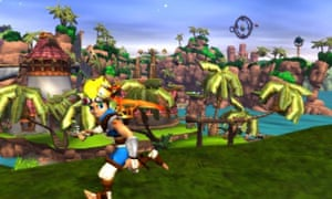 A still from Jak & Daxter, one of a number of games in Sony's back catalogue that players look back on with nostalgia.