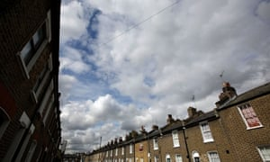 Traditional terraced properties in Greenwich on June 4, 2014 in London, England.