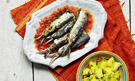 Stuffed (wedded) sardines