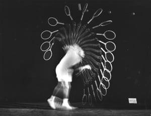 Pancho Gonzales Serves, 1949.
