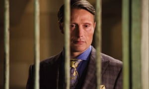 Mads Mikkelson as Dr Hannibal Lecter.