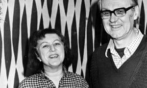Vera Derer And Husband Vladimir Derer At Their Home In Golders Green London.