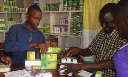Uganda TIENS shop