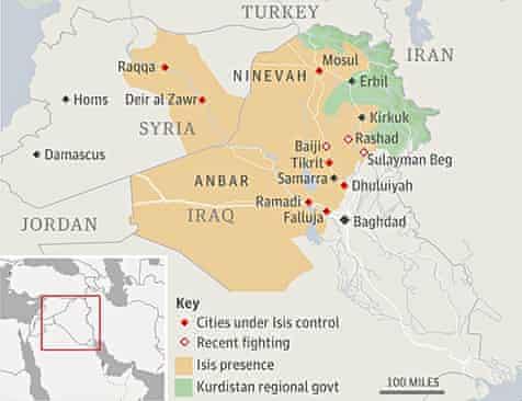 Iraq map locator